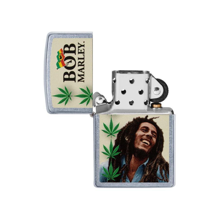 Lighter Zippo Bob Marley Leafs