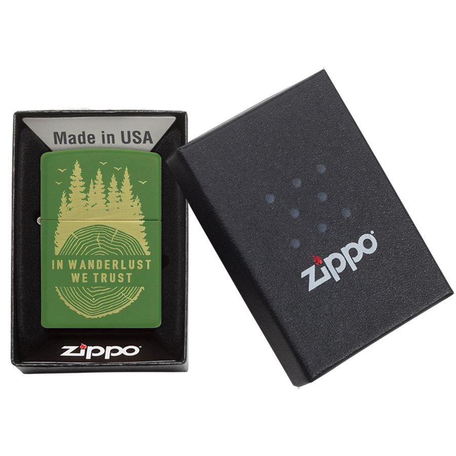 Aansteker Zippo In Wanderlust