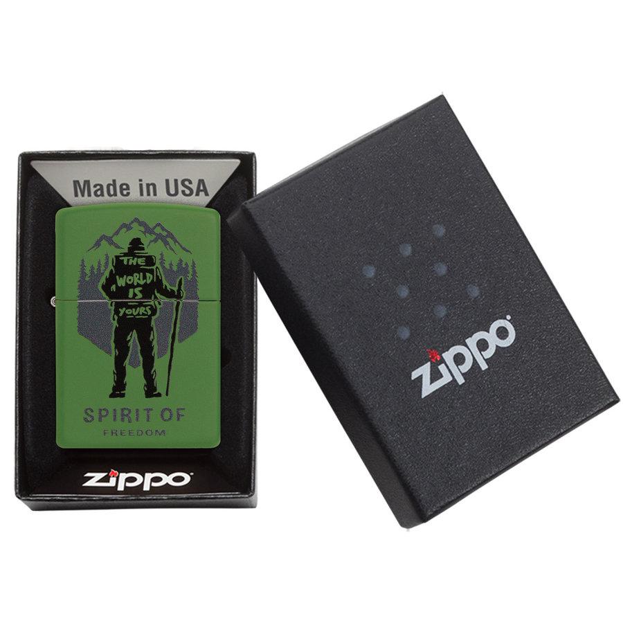 Aansteker Zippo Hiking - Spirit of Freedom