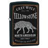 Zippo Lighter Zippo Yellowstone Grey Wolf