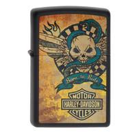 Lighter Zippo Harley Davidson Born to Ride