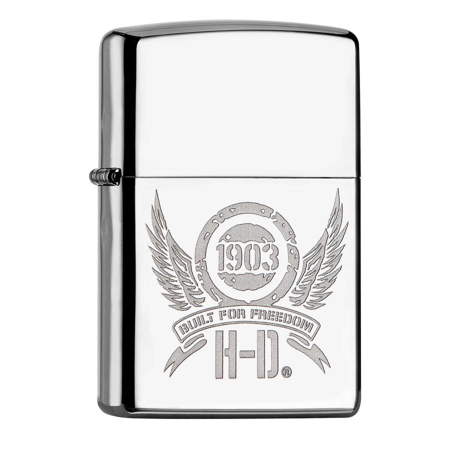 Aansteker Zippo Harley Davidson Shield