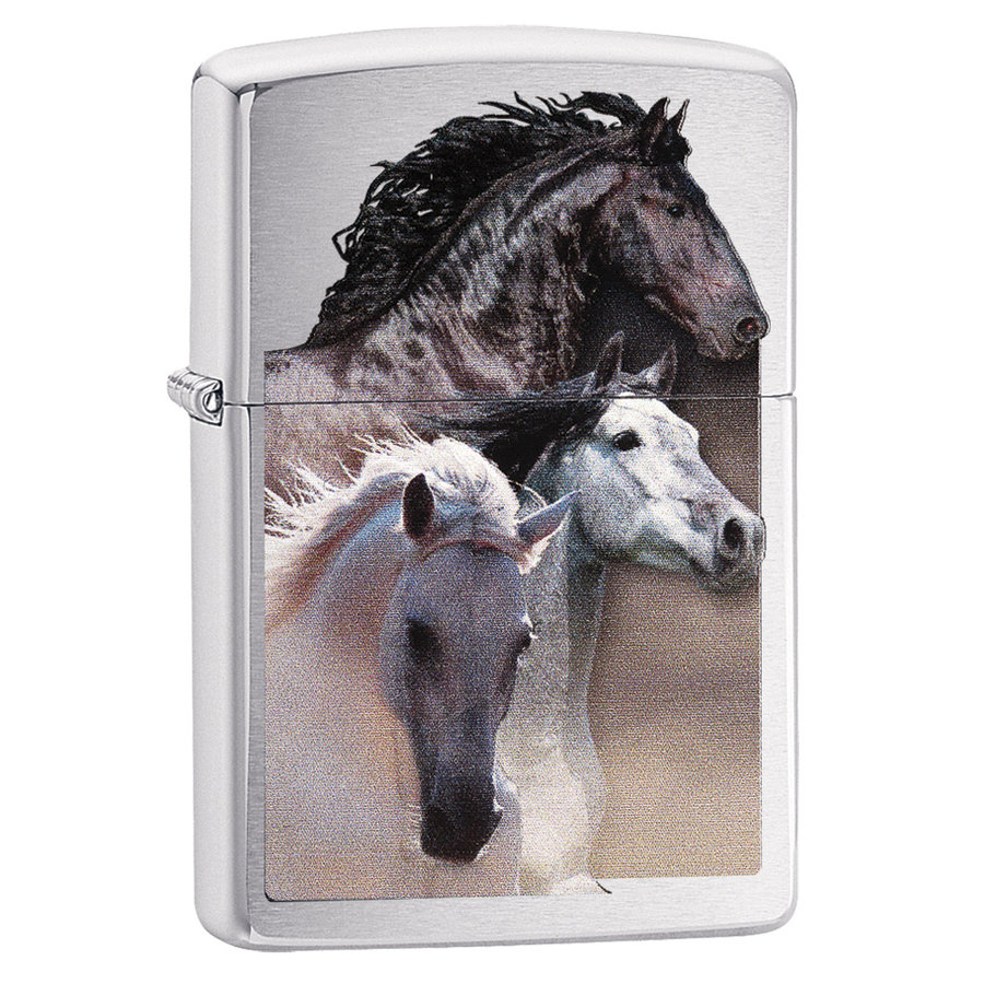Lighter Zippo Horses