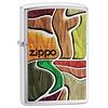Zippo Lighter Zippo Colorful Wood Design