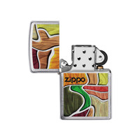 Aansteker Zippo Colorful Wood Design