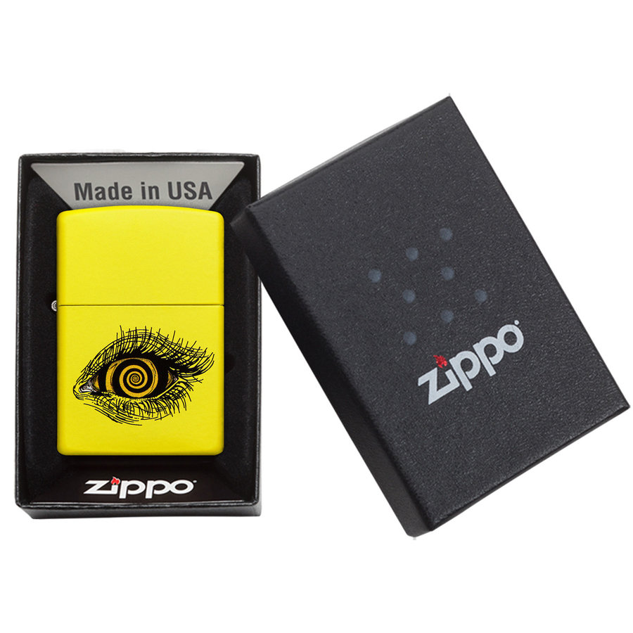 Lighter Zippo Human Eye