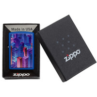 Lighter Zippo Isometric City