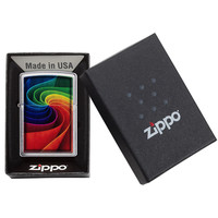 Lighter Zippo 3D Rainbow