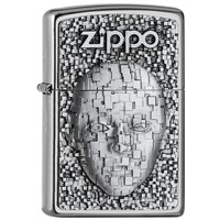 Lighter Zippo Digital Face Emblem