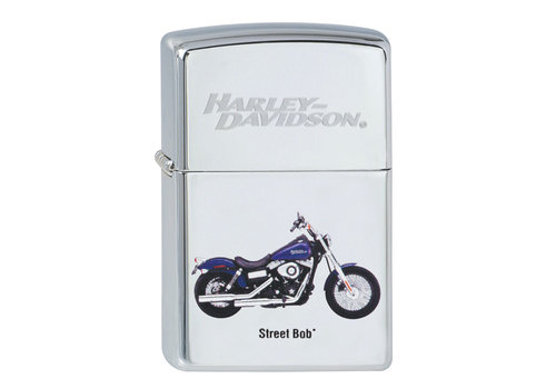 Aansteker Zippo Harley Davidson Street Bob