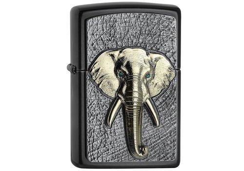 Aansteker Zippo Elephant Tri-Color Emblem
