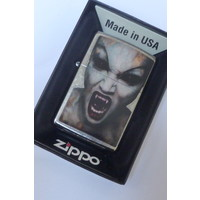 Lighter Zippo Screaming Vampire