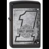 Zippo Aansteker Zippo Harley Davidson Metal Wood Planks