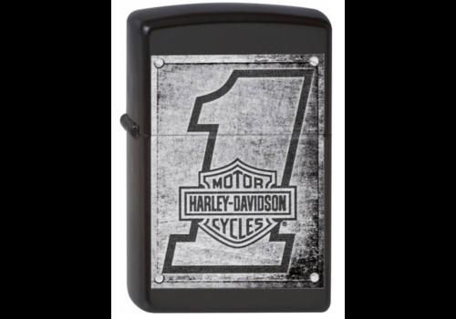 Lighter Zippo Harley Davidson Metal Wood Planks
