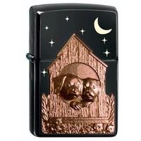 Aansteker Zippo Limited Edition Dog House Emblem