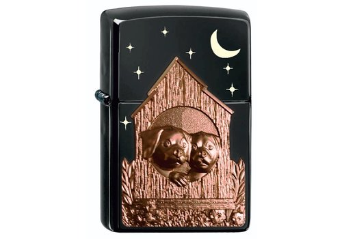 Aansteker Zippo Limited Edition Dog House Emblem