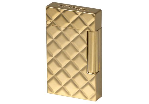 Aansteker S.T. Dupont Ligne 2 Slim Quilted Yellow Gold