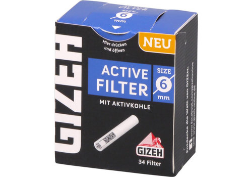 Gizeh Black 6 mm. Active Filters