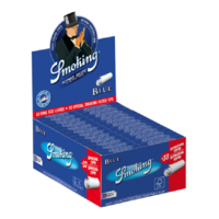 Smoking Kingsize Blue Vloei & Tips Box
