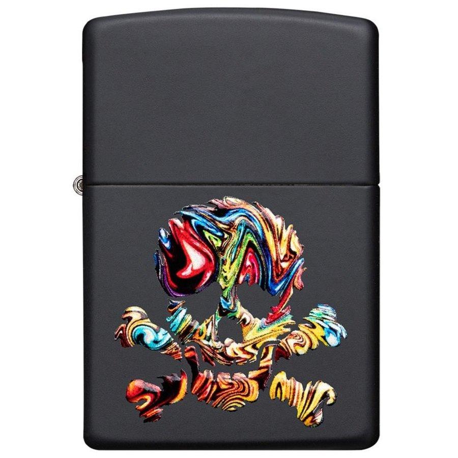 Aansteker Zippo 3D Print Color Skull