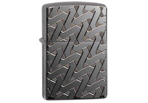 Lighter Zippo Armor Case Geometric Wave
