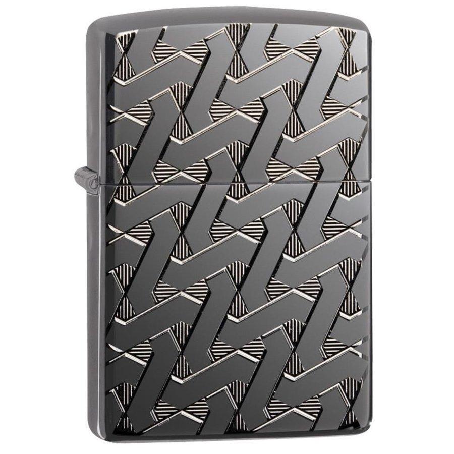 Aansteker Zippo Armor Case Geometric Wave