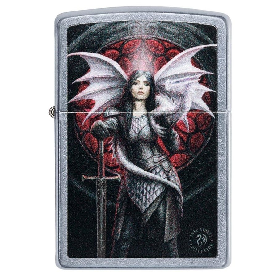 Lighter Zippo Anne Stokes Dragon Girl