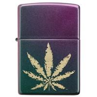 Lighter Zippo Cannabis Leaf