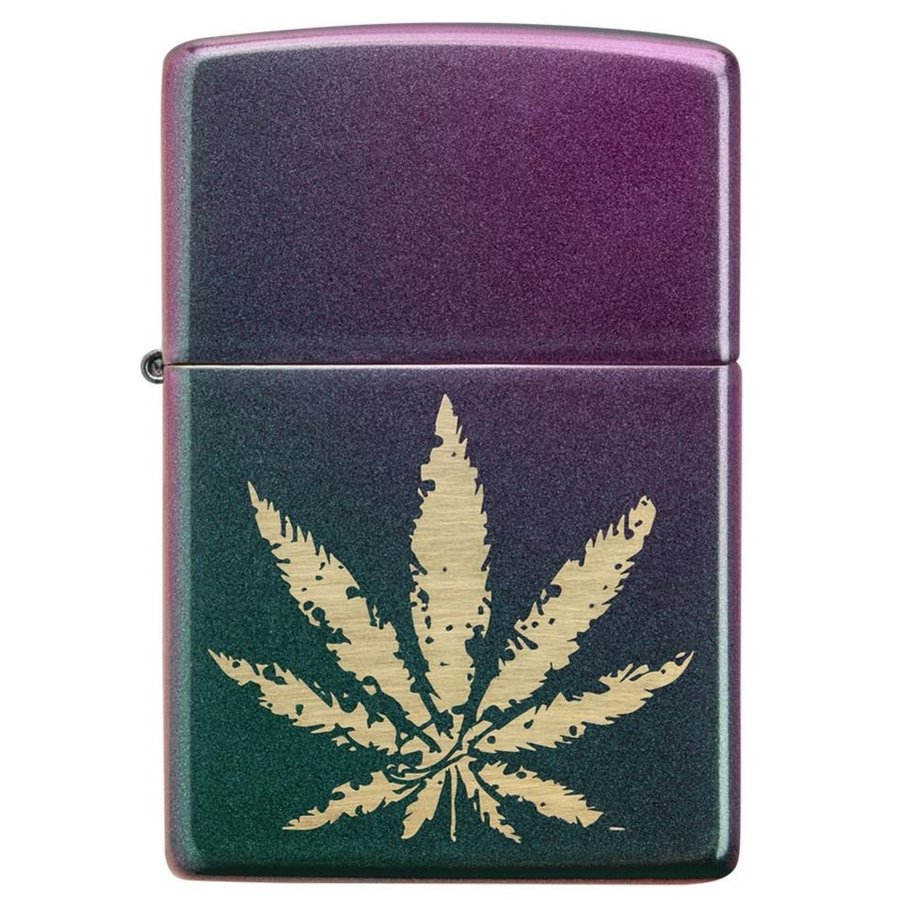 Aansteker Zippo Cannabis Leaf
