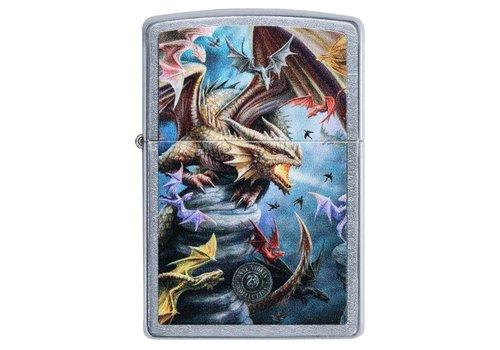 Lighter Zippo Anne Stokes Dragons