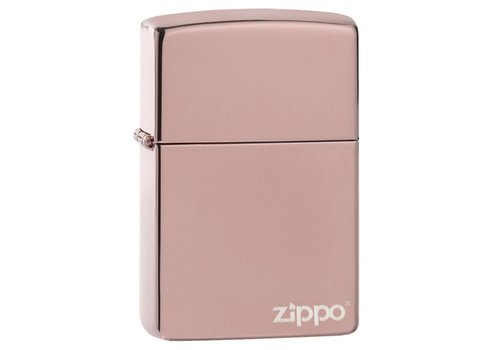 Lighter Zippo Rose Gold with Logo