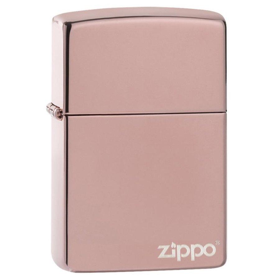 Aansteker Zippo Rose Gold with Logo