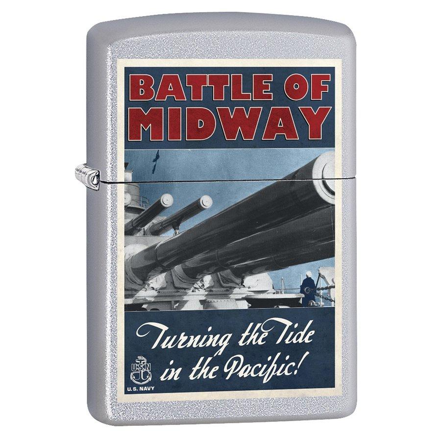 Lighter Zippo U.S. Navy Battle of Midway