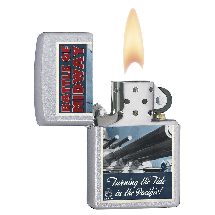 Aansteker Zippo U.S. Navy Battle of Midway