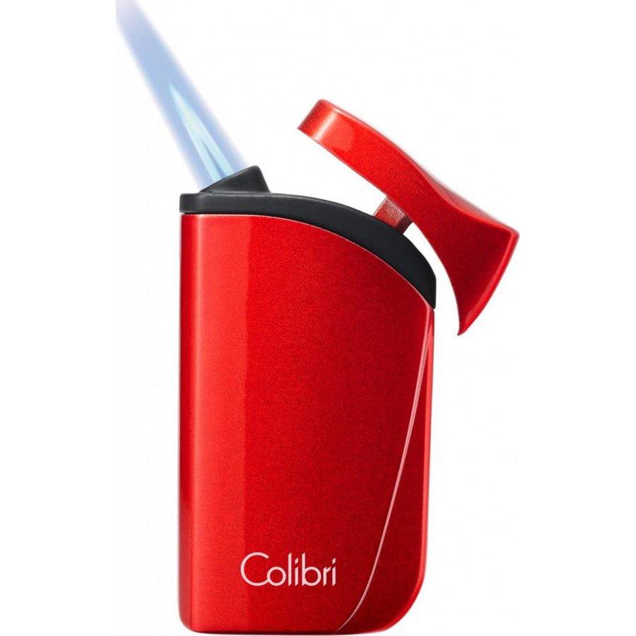 Aansteker Colibri Falcon Carbon Silver