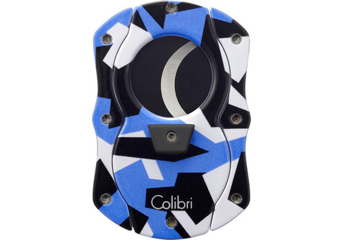 Cigar Cutter Colibri Camo Cut Blue