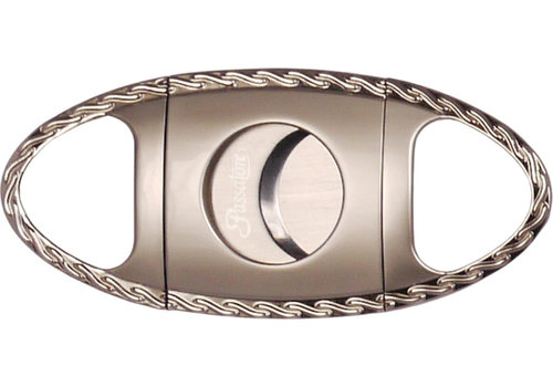 Cigar Cutter Passatore Chrome with Designed Border