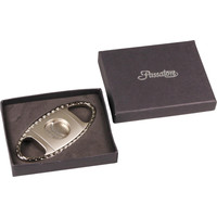 Cigar Cutter Passatore Chrome with Designed Border