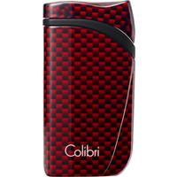 Aansteker Colibri Falcon Carbon Red