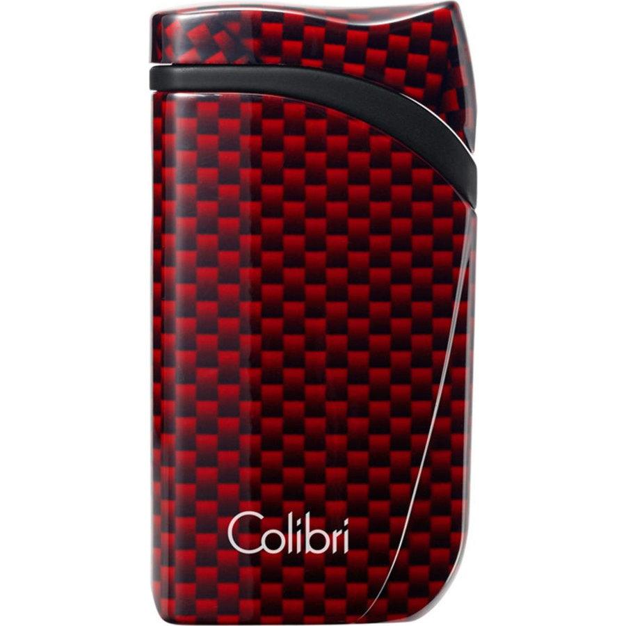 Lighter Colibri Falcon Carbon Red