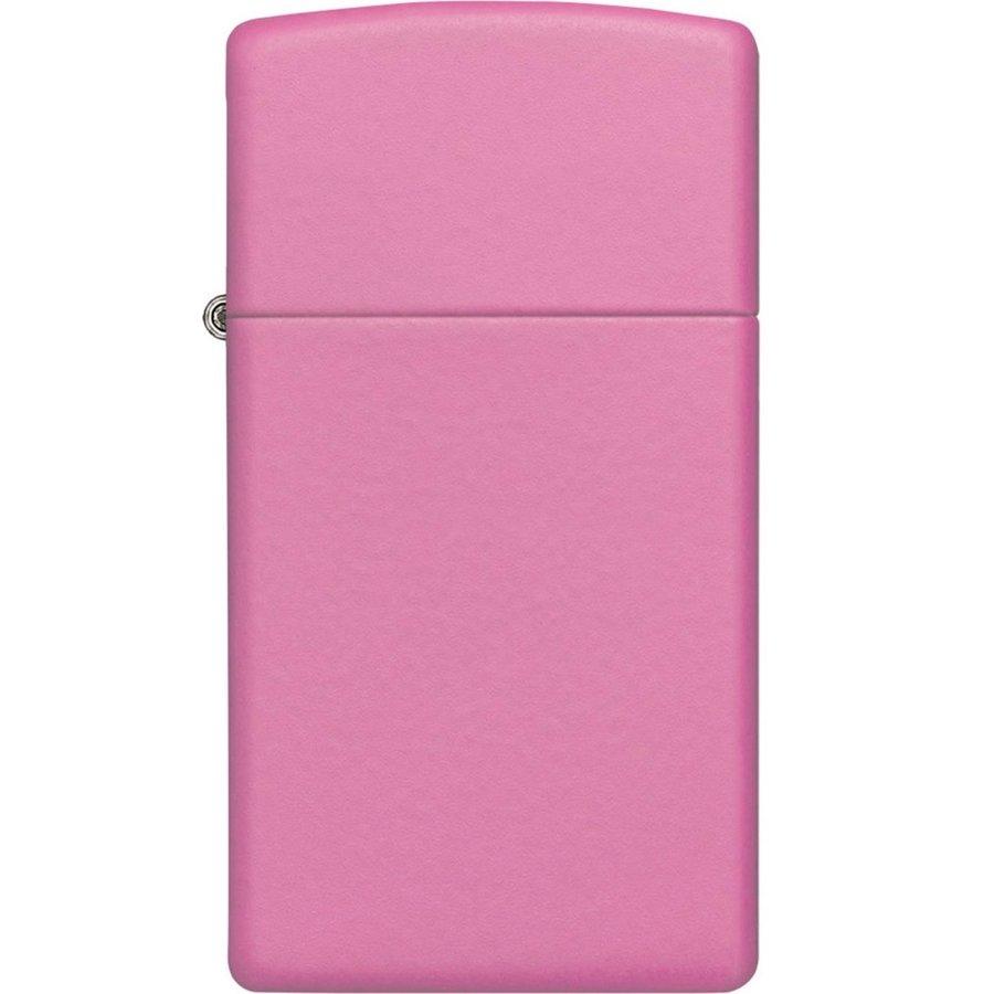 Aansteker Zippo Pink Matte Slim