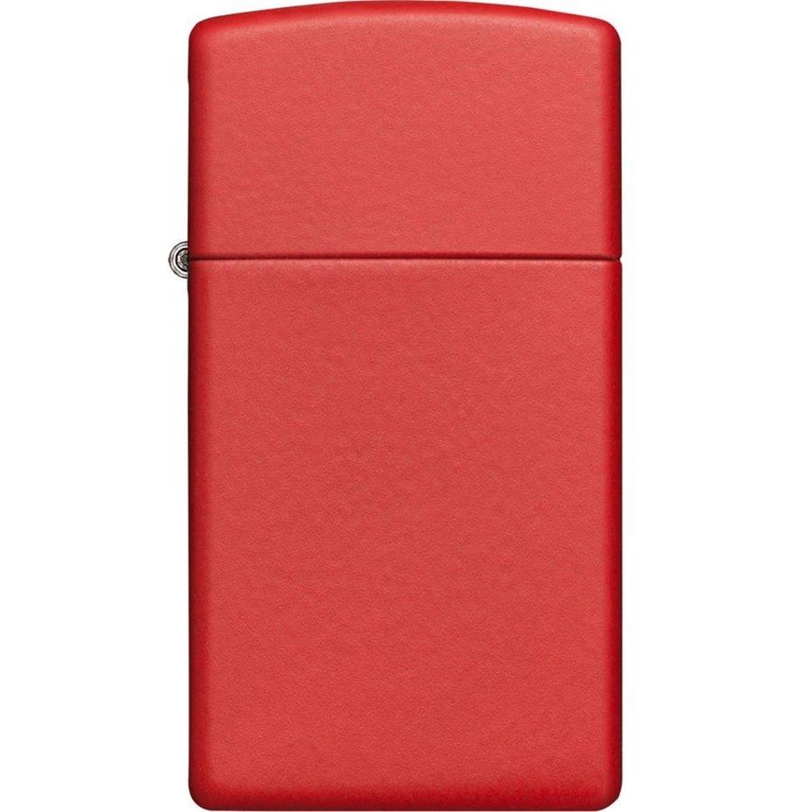 Lighter Zippo Red Matte Slim