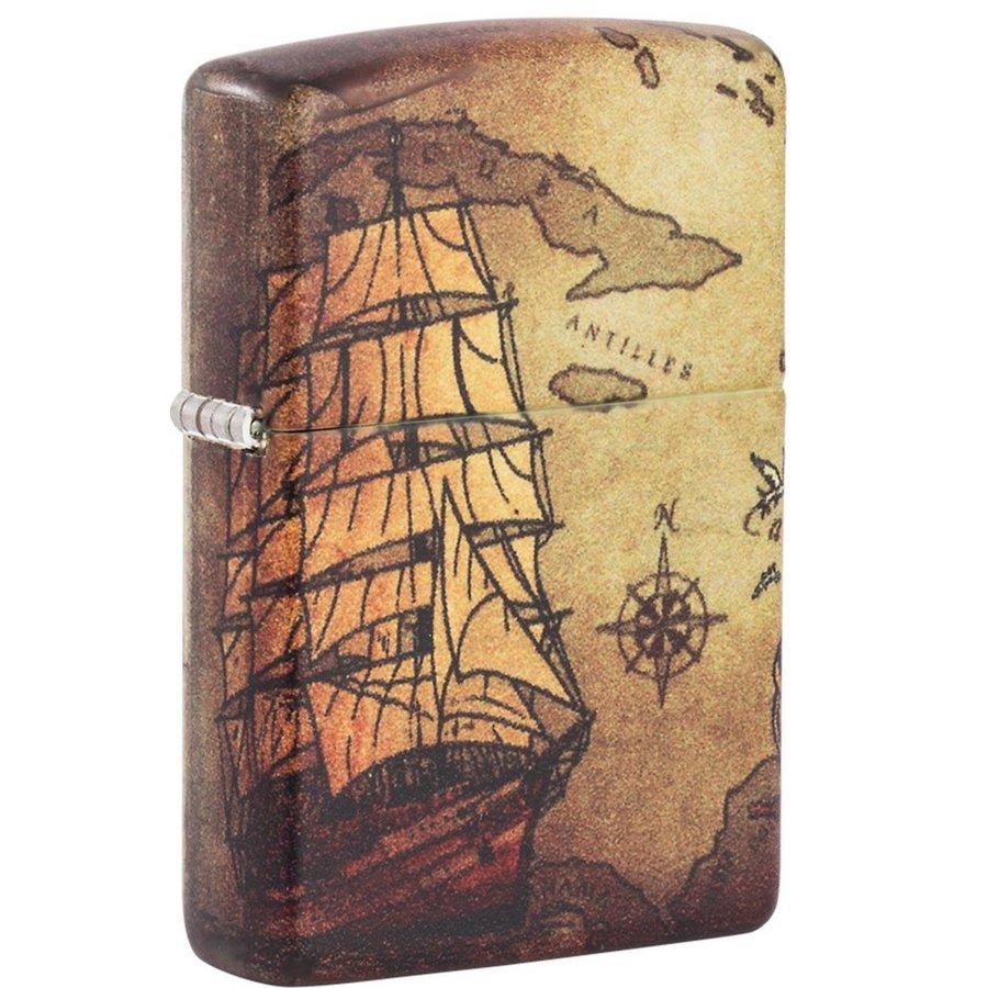 Aansteker Zippo Pirate Ship