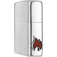 Aansteker Zippo Side Flame Emblem