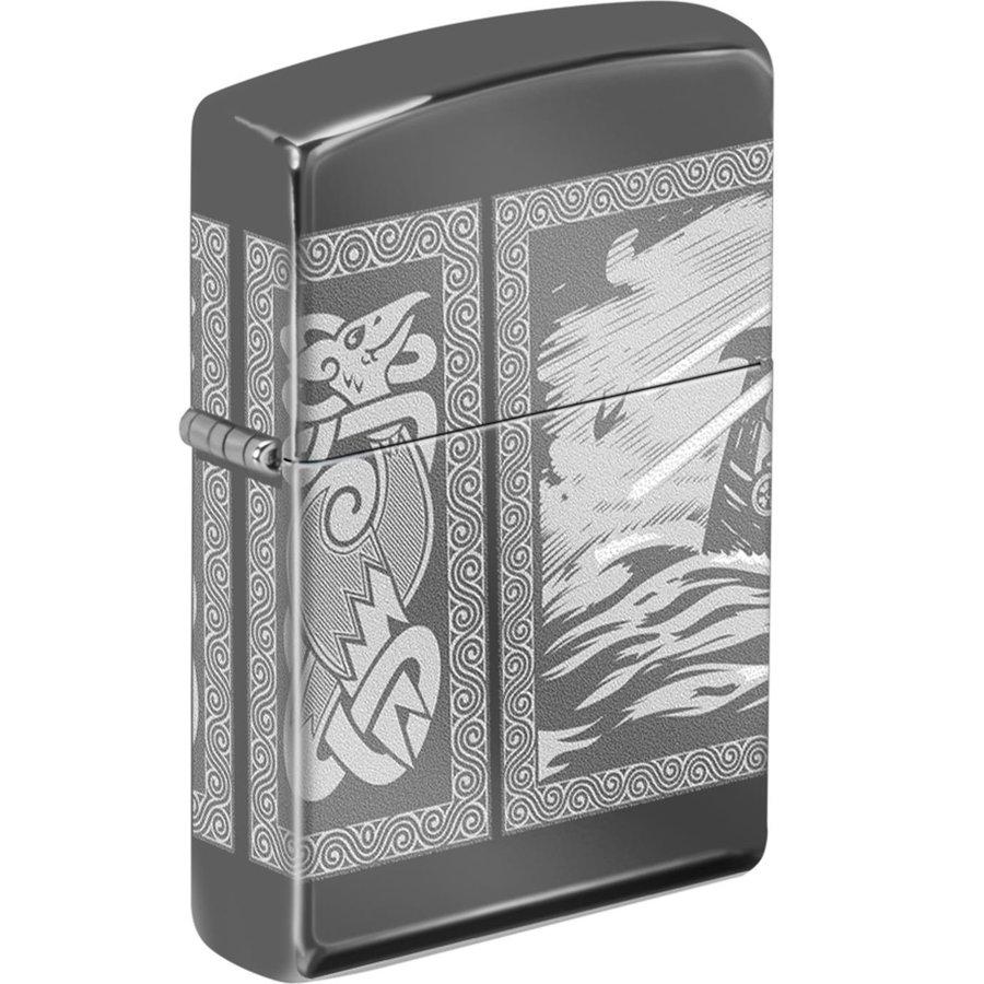 Lighter Zippo Viking Drakkar