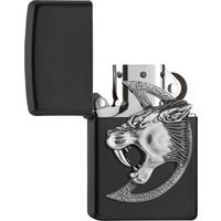 Lighter Zippo Saber Toothed Tiger Emblem