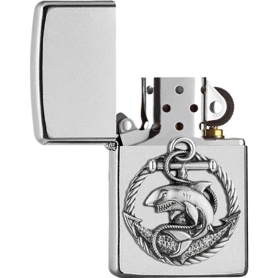 Aansteker Zippo Shark Anchor Emblem