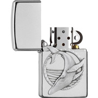 Lighter Zippo Whale Emblem