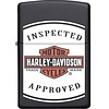 Zippo Aansteker Zippo Harley Davidson Inspected Approved