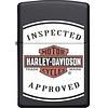 Zippo Lighter Zippo Harley Davidson Inspected Approved